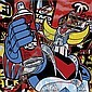 SPEEDY GRAPHITO (1961)Goldograff, 2011.Acrylique,,  Speedy Graphito, Click for value