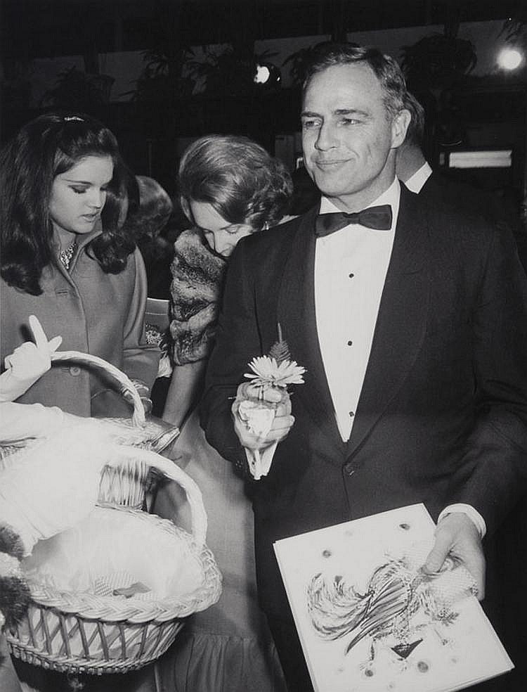 ANDRE SAS (1928)Marlon Brando.Tirage argentique