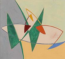 NICOLAAS WARB (NLD/1906-1957)  Composition, ca. 1950