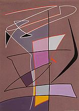 NICOLAAS WARB (NLD/1906-1957)  Etude pour chant d'automne, 1950