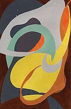 NICOLAAS WARB (NLD/1906-1957)  Etreinte, ca. 1950