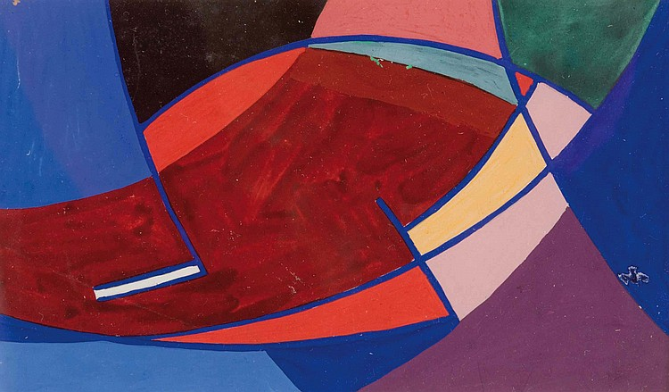 NICOLAAS WARB (NLD/1906-1957)  Essor, 1946