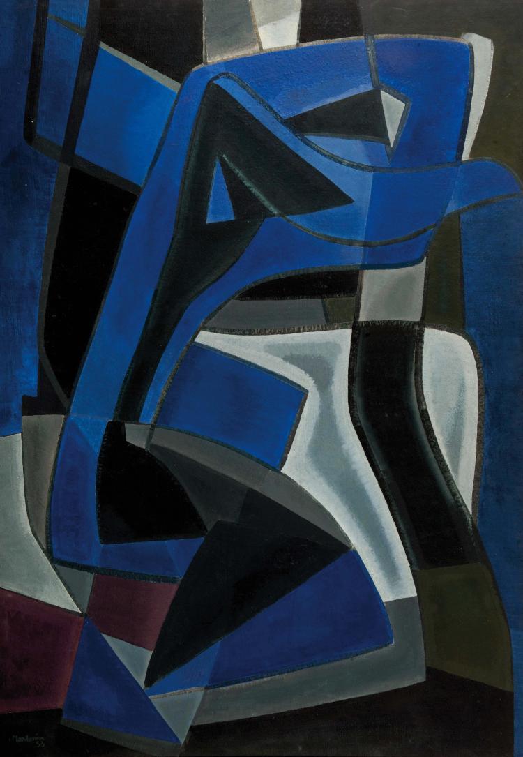 FRANCIS MONTANIER (FRA/1895-1974)  Gethsémani, 1953