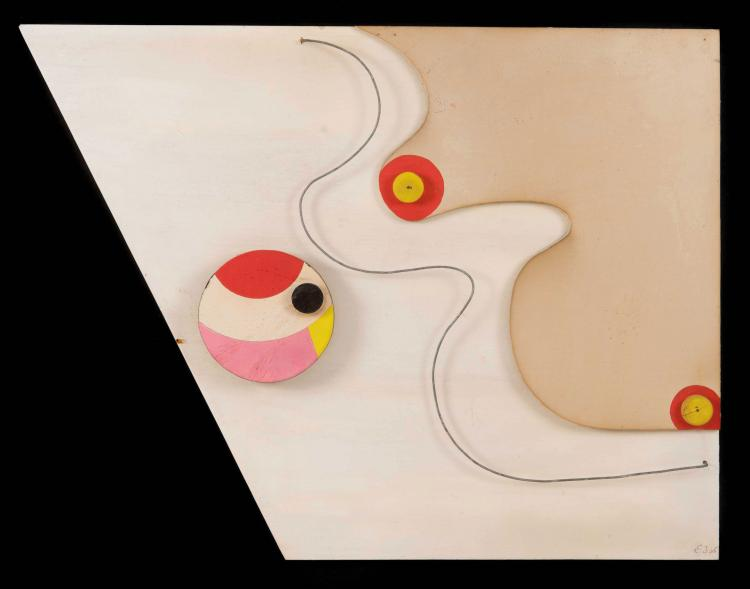 ETIENNE BEOTHY (HUN/1897-1961)  Sans titre, 1938