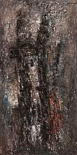 EZEKIEL BAROUKH (EGY/1909-1984)  Composition, ca. 1958