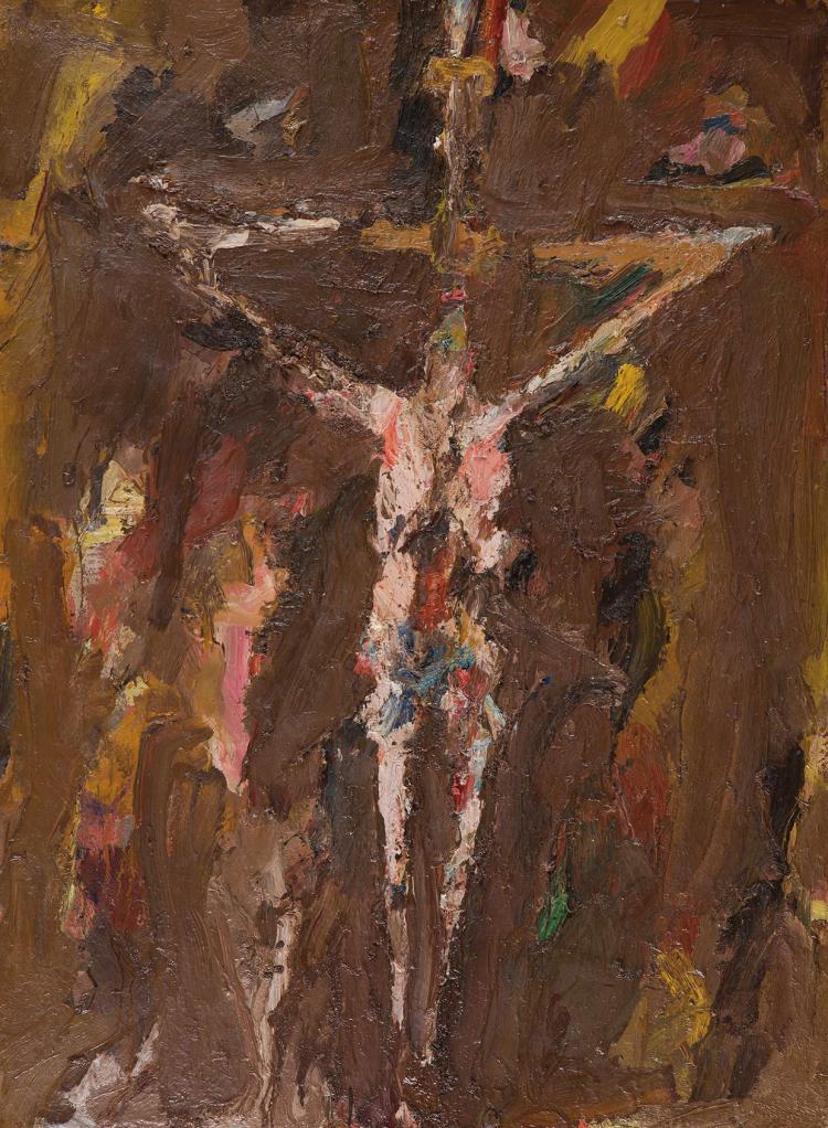 EUGèNE LEROY (FRA/1910-2000)  Crucifixion, 1956