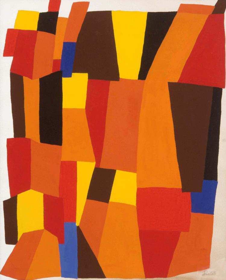 JEAN LEPPIEN (GER/1910-1991) Sans titre, 1955