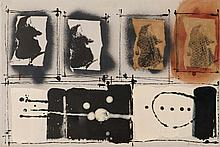 FRANÇOIS ARNAL (FRA/1928-2012)  Les Champs Essentiels XI - Disparition des éléments, 1962