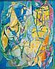 ANDRé LANSKOY (RUS/1902-1976)  L'oiseau et la bergère, 1967
