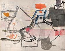 EUGèNE DE KERMADEC (FRA/1899-1976)  Les signes d'un cheminement très ancien, 1967
