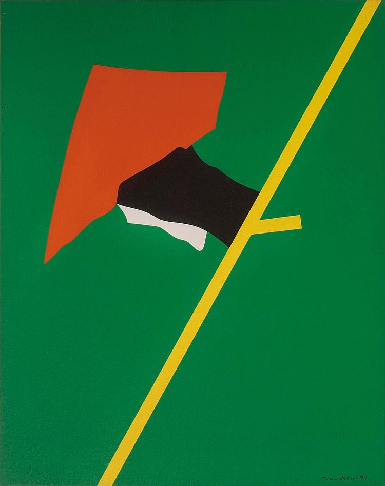 JEAN LEGROS (FRA/1917-1981)  Composition, 1974