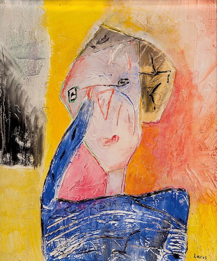 ELIANE LARUS (FRA/1944) Femme triste, 1980