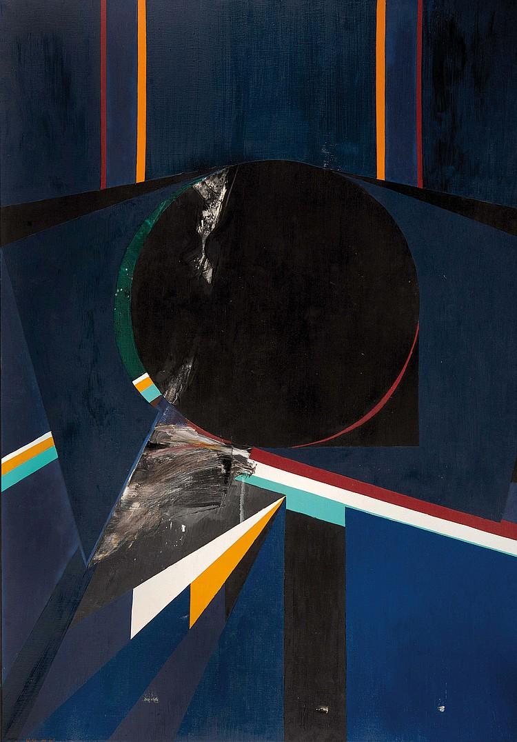 BUDD HOPKINS (USA/1931-2011) Sans titre, 1969