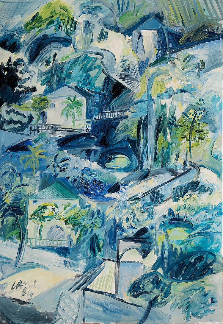 LOUIS CANE (FRA/1943) Beaulieu, 1983-1984