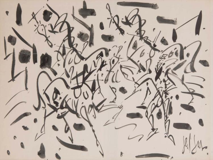 EUGèNE PAUL, DIT GEN PAUL (FRA/1895-1975)  Sans titre, ca. 1965
