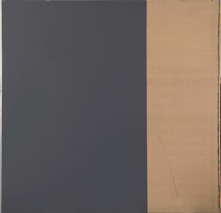 GEORGES TOUZENIS (FRA/1947)  Huile sur toile, 1975