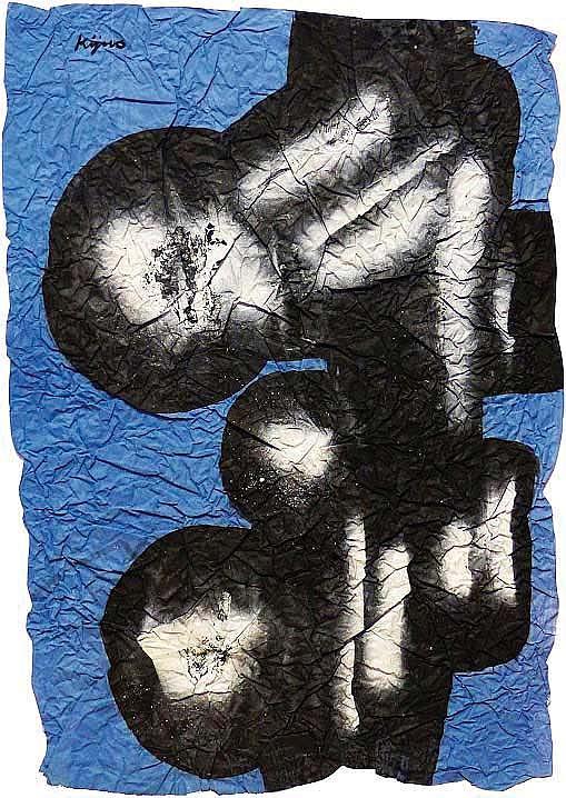 LADISLAS KIJNO (FRA/1921-2012) Composition, ca. 1970