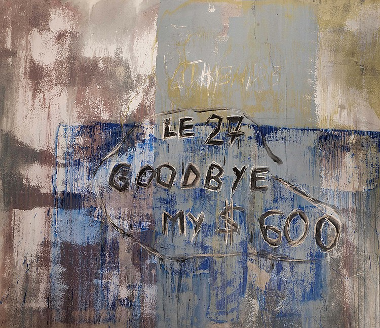JEAN-LOUIS DELBèS (FRA/1954) Goodbye my $600, 1985