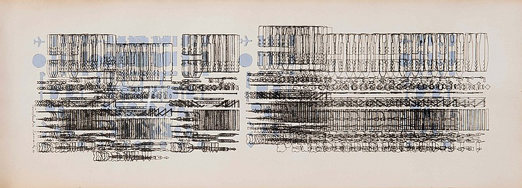 CONSTANTIN XENAKIS (FRA/1931)  Composition abstraite, 1986