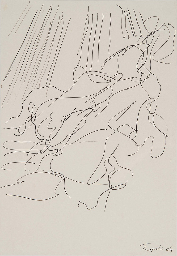 GéRARD TRAQUANDI (FRA/1952) Sans titre, 2004
