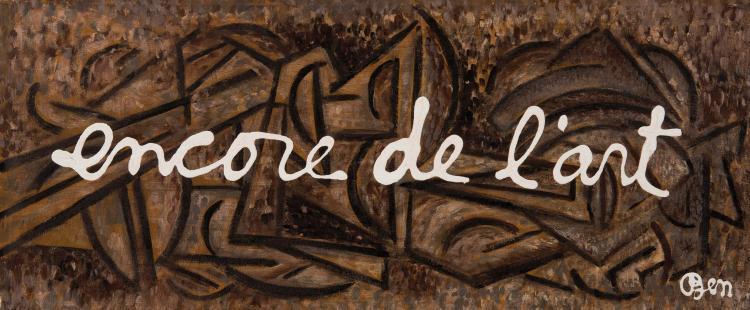 BEN (FRA/1935)  Encore de l'art, ca. 1988