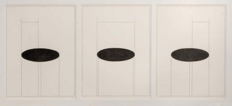 NICOLAS PETROCHKINE (RUS/1946) Composition I, II et III, 2009