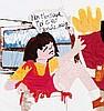 CORINNE MARCHETTI (FRA/1972)  Rencontre avec Paul McCarthy, 2002