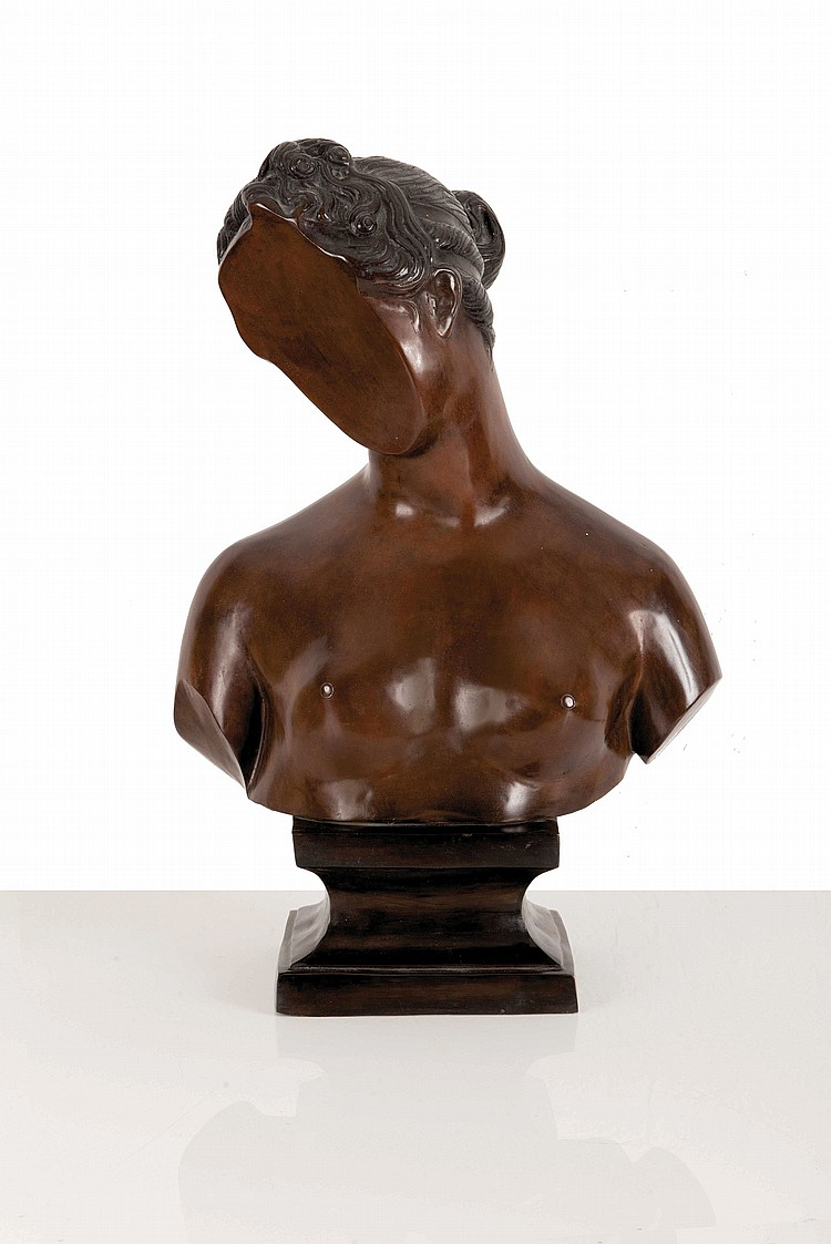 SACHA SOSNO (FRA/1937-2013)  Buste de Marianne, ca. 1989
