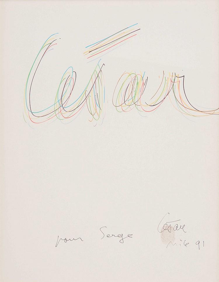 CéSAR BALDACCINI, DIT CéSAR (FRA/1921-1998)  César, 1991