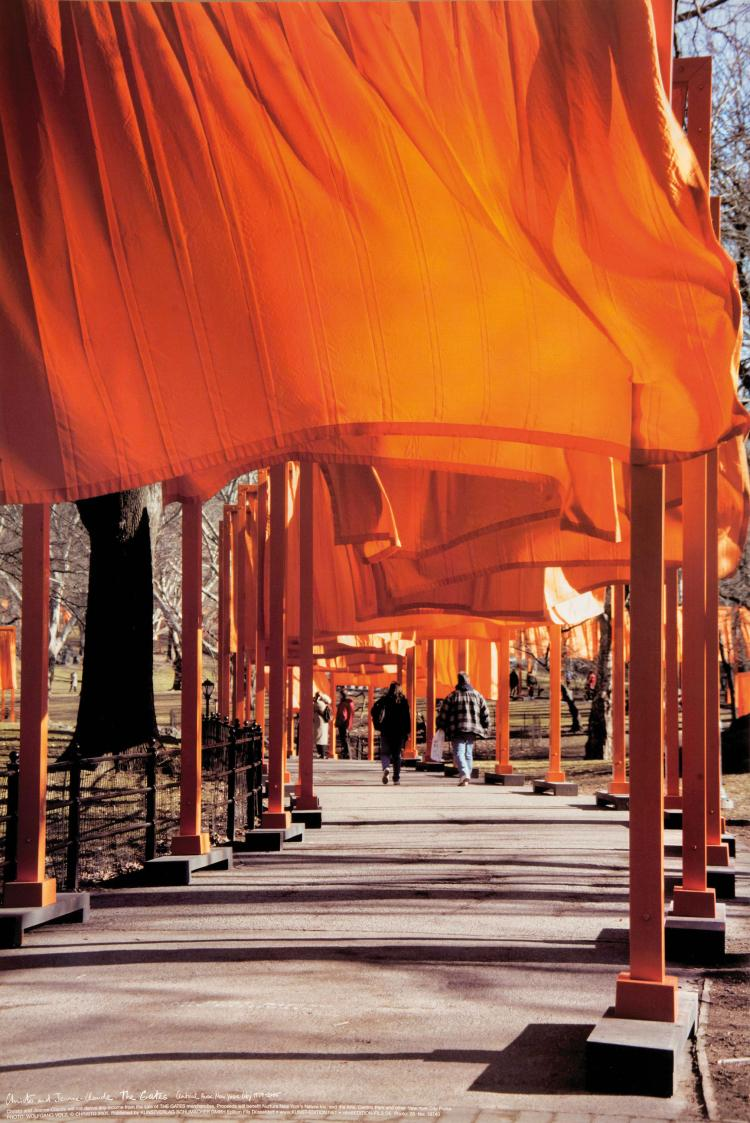 CHRISTO ET JEANNE-CLAUDE (USA/1935 // 1935-2009)  The Gates, New York, Central Park, 2005