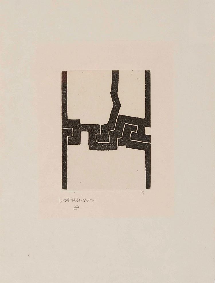 EDUARDO CHILLIDA (ESP/1924-2002) Eintsu, 1974
