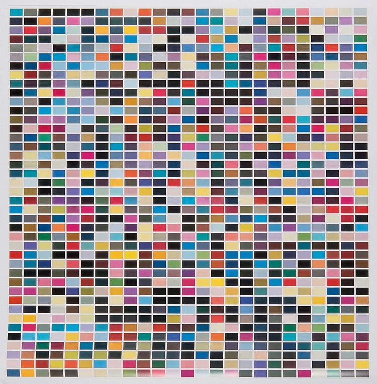 GERHARD RICHTER (GER/1932)  1025 Farben