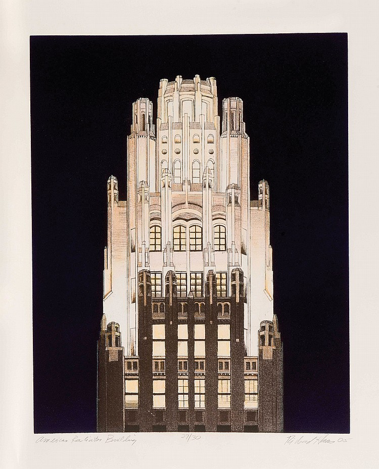 RICHARD HAAS (USA/1936)  American Radiator Building, 2005
