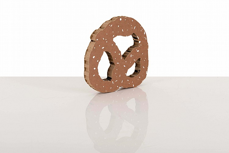 CLAES OLDENBURG (USA/1929) NYC Pretzel, 1994