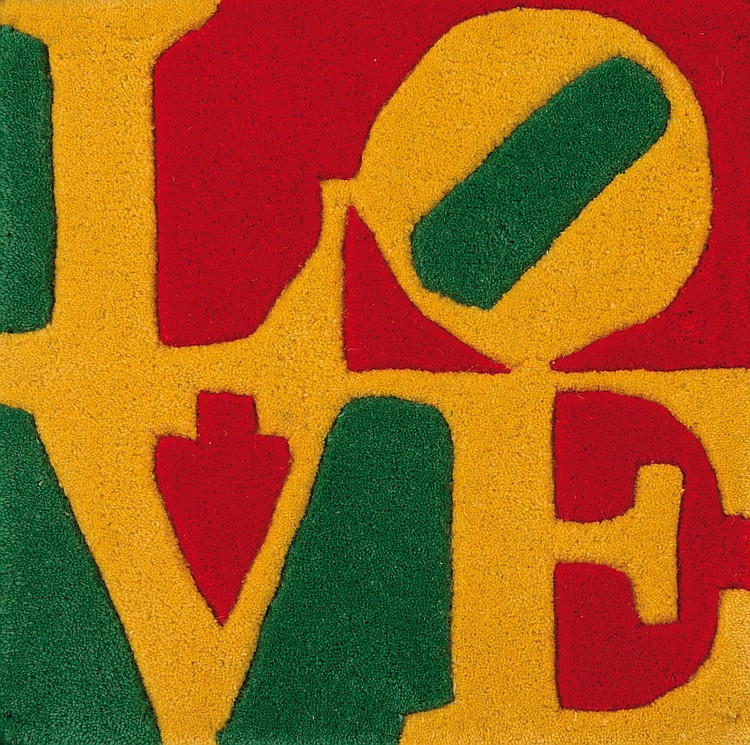 ROBERT INDIANA (USA/1928) Summer Love, 2006