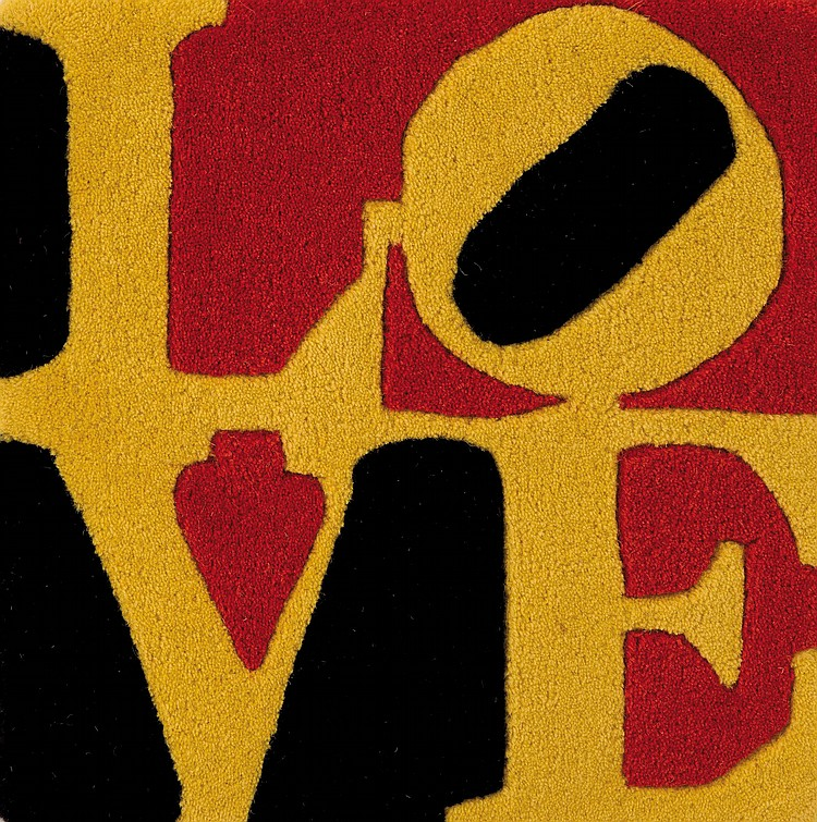 ROBERT INDIANA (USA/1928)  German Love, ca. 1995