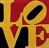 ROBERT INDIANA (USA/1928)  German Love, 2005