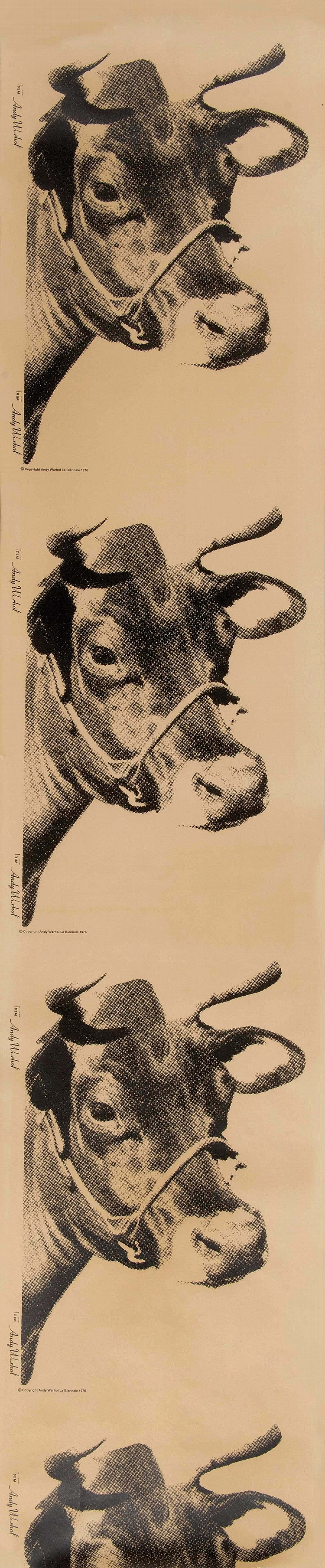 ANDY WARHOL (USA/1928-1987)  Cow Wallpaper, 1976