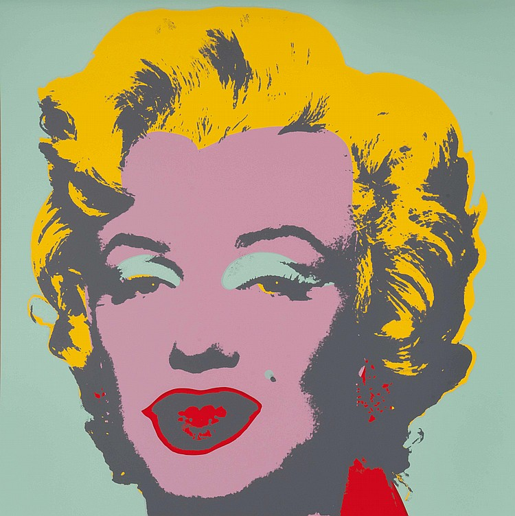 ANDY WARHOL (USA/1928-1987) Marilyn Monroe (After Andy Warhol)