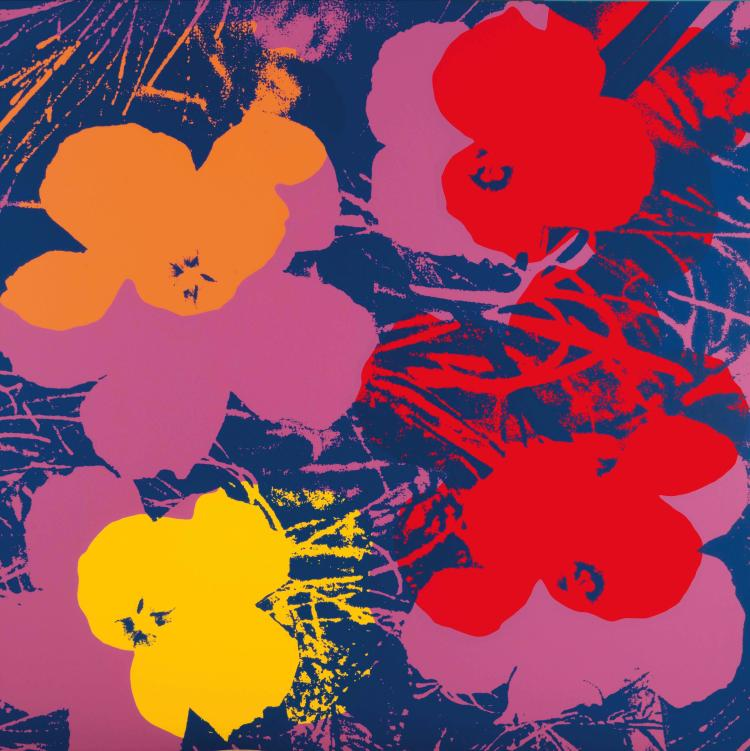 ANDY WARHOL (USA/1928-1987) Flowers (After Andy Warhol)