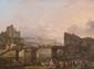 Henri van ASSCHE (1774-1841)  Scène de la vie villageoise.  Huile sur toile.  Signée et datée 1814 en bas à gauche.  62 x 77 cm.
