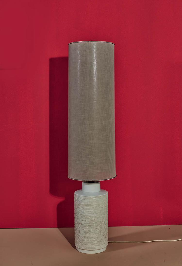 travail francais lampe de parquet base en ceramique et abat With parquet en ceramique