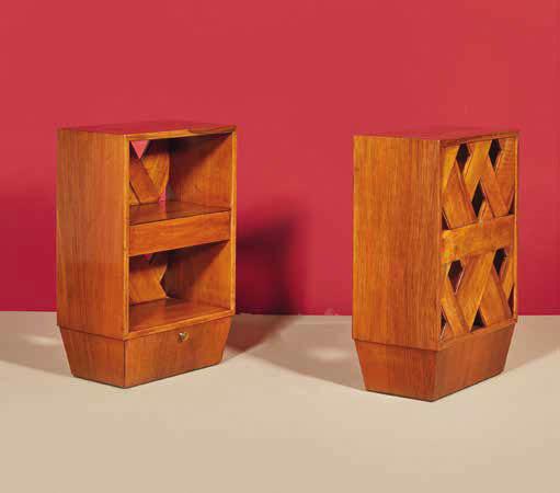 paolo buffa 1903 1970 paire de chevets. Black Bedroom Furniture Sets. Home Design Ideas