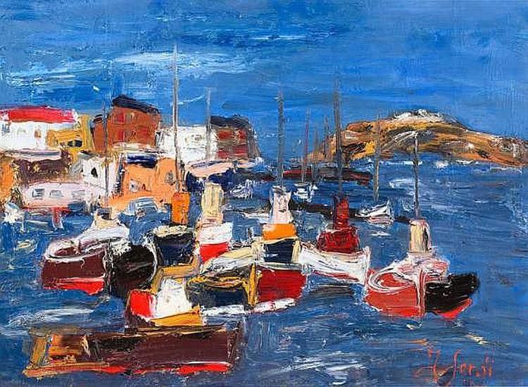 Jean SARDI (NÉ EN 1947) - Le port d'attache.