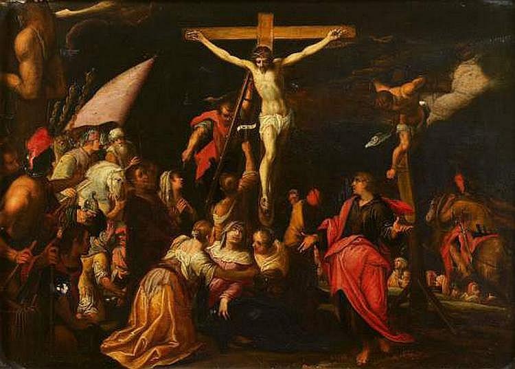 HANS VON AACHEN (COLOGNE 1552 - PRAGUE 1616) - La
