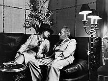 LUC FOURNOL  Coco Chanel et Jean Cocteau