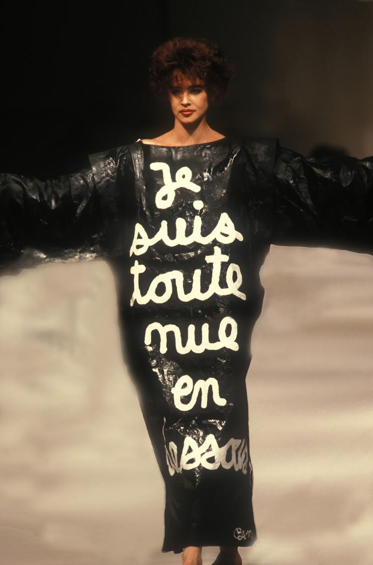 GUY MARINEAU  Robe BEN PAR Jean Charles de Castelbajac