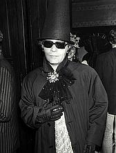 GUY MARINEAU  Karl Lagerfeld, le palace, loulou Party-april 1978