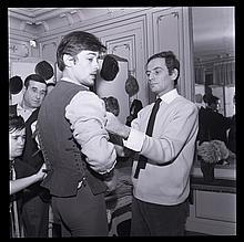 ANDRE SAS  Alain Delon et Pierre Cardin