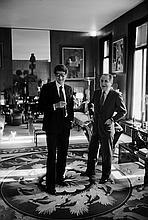 VLADIMIR SICHOV  Yves Saint Laurent et Pierre Bergé